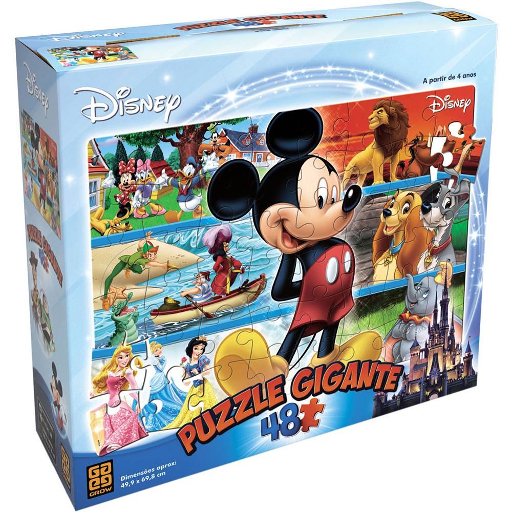 Puzzle Gigante 48 Disney - Grow