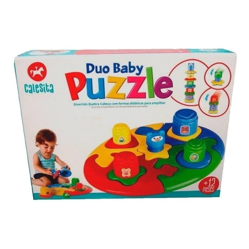 Quebra Cabeça Didático Duo Baby Puzzle - Calesita