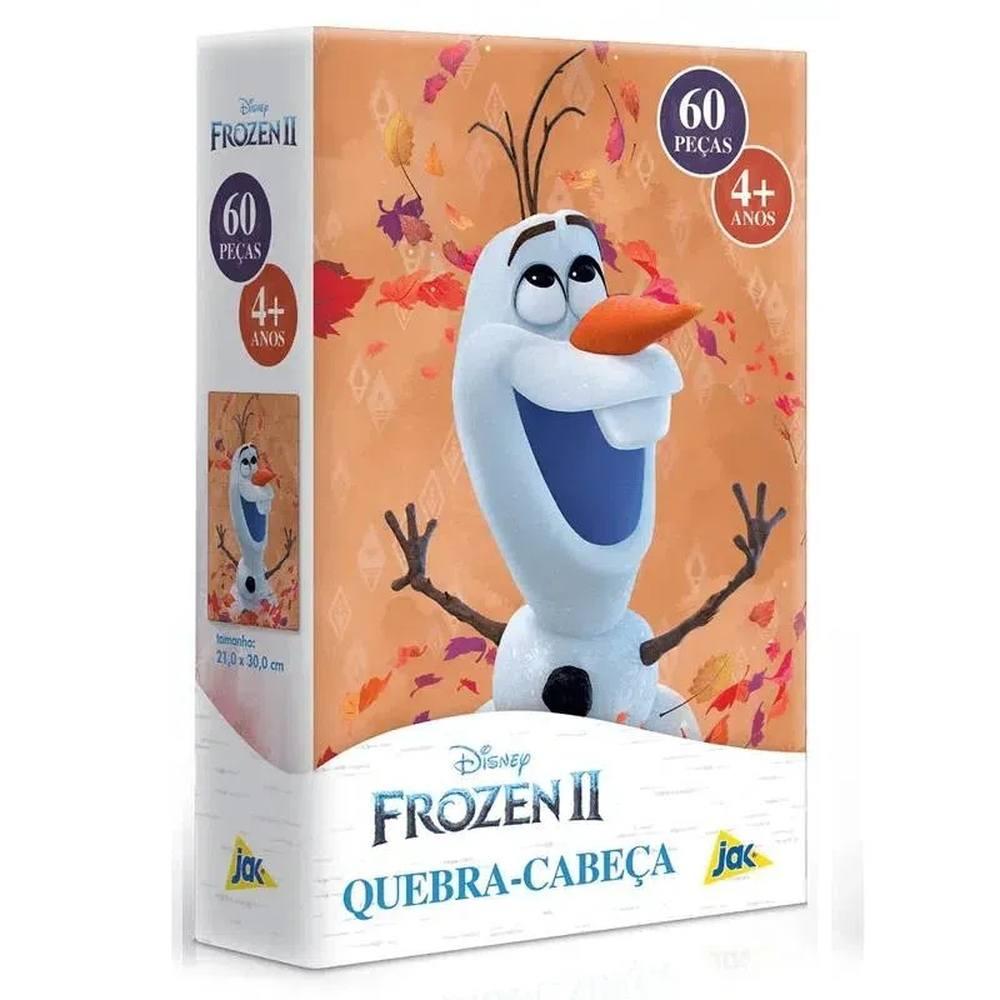 Quebra-Cabeça Olaf Frozen II Disney 60 peças - Toyster