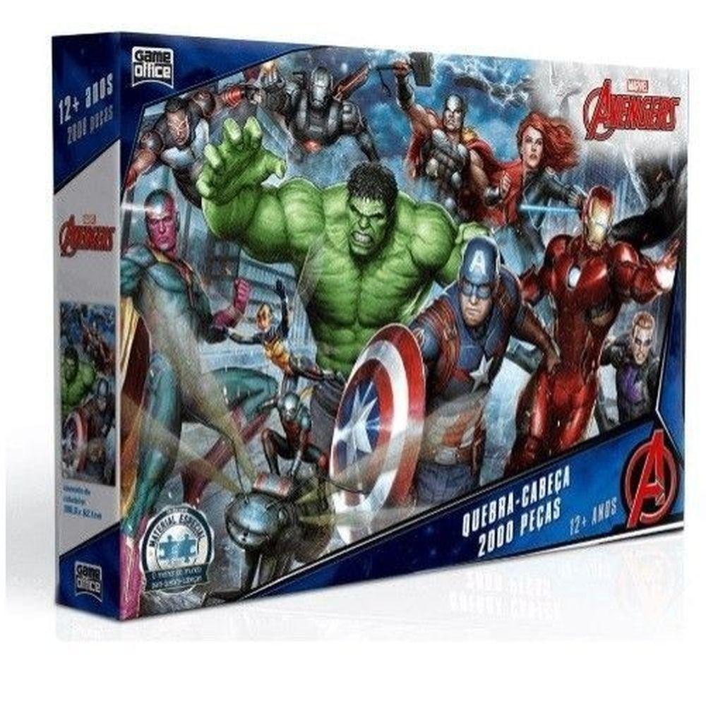 Quebra-cabeça - Os Vingadores 2000 peças