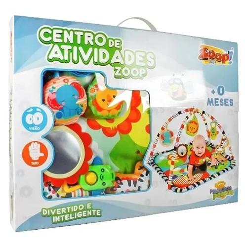 Tapete Centro de Atividades - Primeiros passos - Zoop Toys