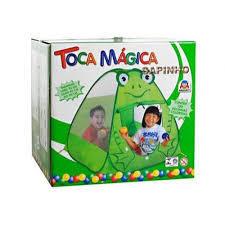 Toca Magica Sapinho com 100 Bolinhas - Braskit