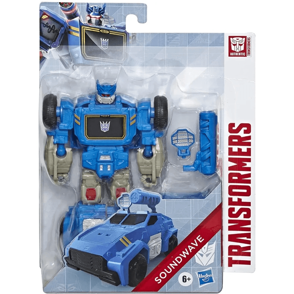 Transformers - Boneco Authentics Alpha - Soundwave