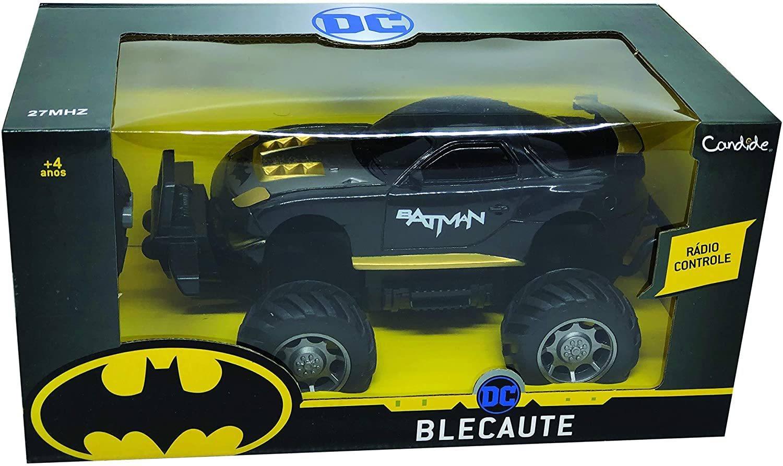 Veículo de Controle Remoto - DC Comics - Batman - Blecaute - Candide