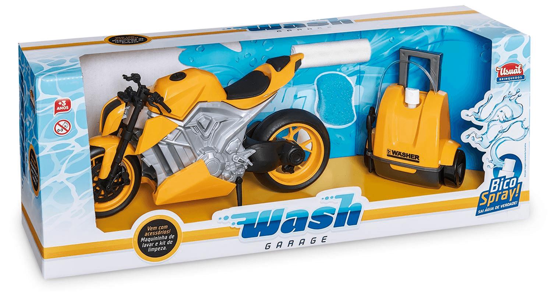 Wash Garage Moto Sport - Usual Brinquedos