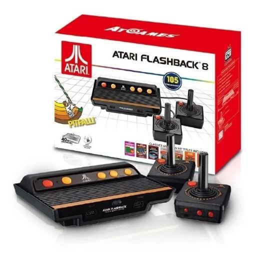 Console Atari Flashaback 8 Gold Deluxe Edition 2 Wireless