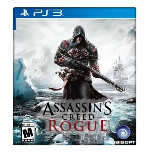 Jogo Assassins Creed Rogue Limited Edition Ps3
