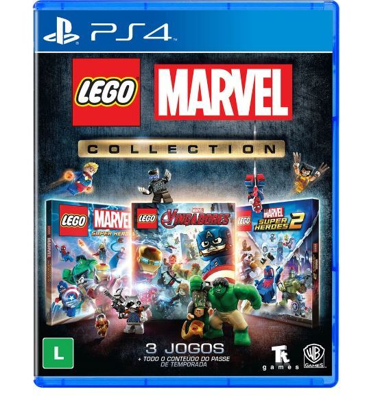 Jogo Lego Marvel Collection PS4