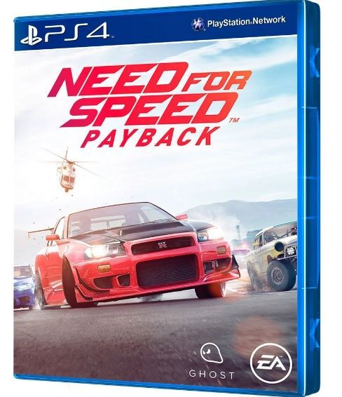 Jogo Need For Speed Payback Inglês/Espanhol Ps4