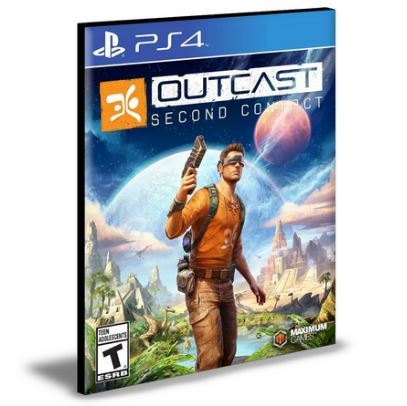 Jogo Outcast Second Contact PS4