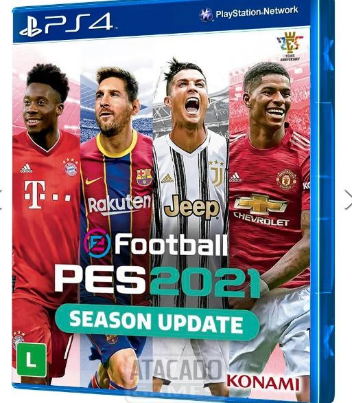 Jogo Pro Evolution Soccer 2021 Season Update PS4