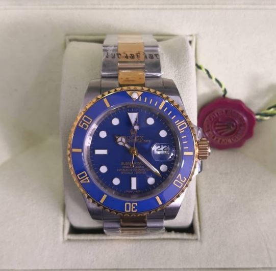 ROLEX SUBMARINER AZUL