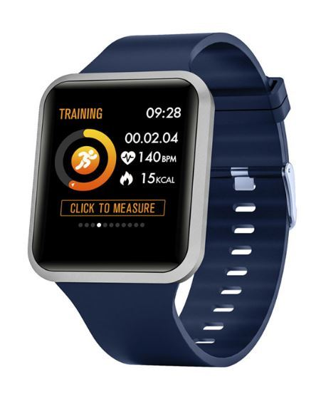 Smartwatch Quanta QTRIS4 Series 4 - Bluetooth - Azul