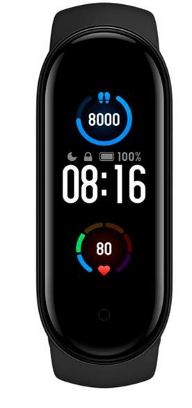 SmartWatch Xiaomi Mi Band 5 - Bluetooth - Preto