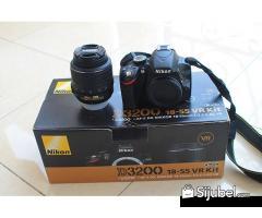 Nikon D3200 KIT 18-55MM HARGA 4.000.000 PIN BB 297BAEAD