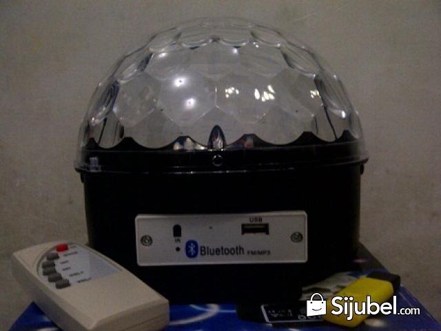 Led Crystal Magic Ball Light Bluetooth - 1/4