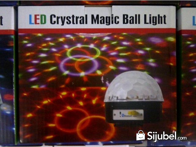 Led Crystal Magic Ball Light Bluetooth - 2/4