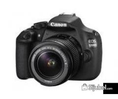 Canon EOS 1200D - 18 MP - 18-55mm f/3.5-5.6 IS II - Lens Kit