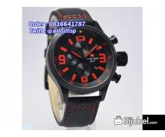 Swiss Army SA2087 Leather Strap (BLR)