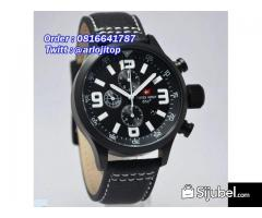Swiss Army SA2087 Leather Strap (BLW)