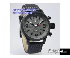 Swiss Army SA2087 Leather Strap (BL)