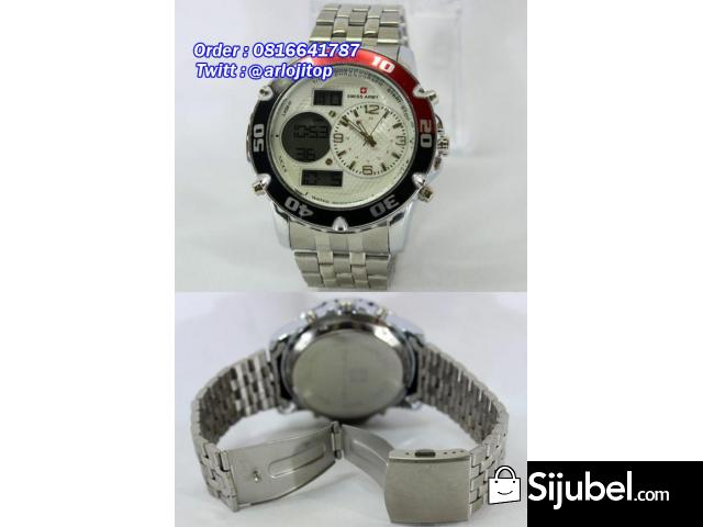 SWISS ARMY Mode dual time For Men - 1/1