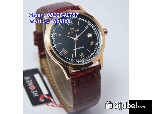 Hegner Clasic 1273MBRG Leather For Men - 1/1