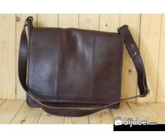 0877.3837.8889(XL) Supplier Tas Kulit Asli, RUBY SLING BAG ON DARKBROW
