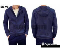 Jaket Hoodie Blue SK-95