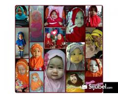 Jilbab Anak Lucu, Kerudung Cantik, Turban Bayi