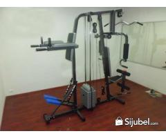 Home Gym 2 Sisi + Stepper