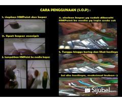 Cat Krom Candy untuk Velg dan ACC Motor, Bisa Cat Sendiri pake Kapas!! Murah!!