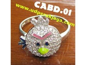 Cincin Perak 925 Angry Bird Pengrajin Perak Semarang