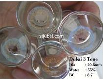 Softlens murah Candy Rainbow, Dubai 3 tone, Super Yogurt, dll