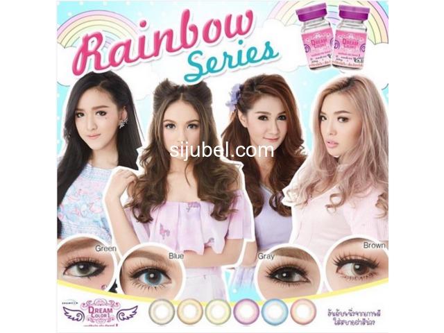 Softlens murah Candy Rainbow, Dubai 3 tone, Super Yogurt, dll - 4/5