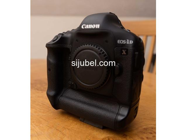 Canon EOS 1 d X 18.1 MP Digital SLR kamera - hitam (hanya tubuh) - 2/3