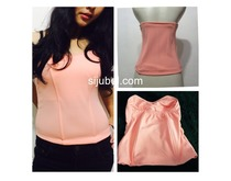 bustier basic tulang 8 cup salmon polyester