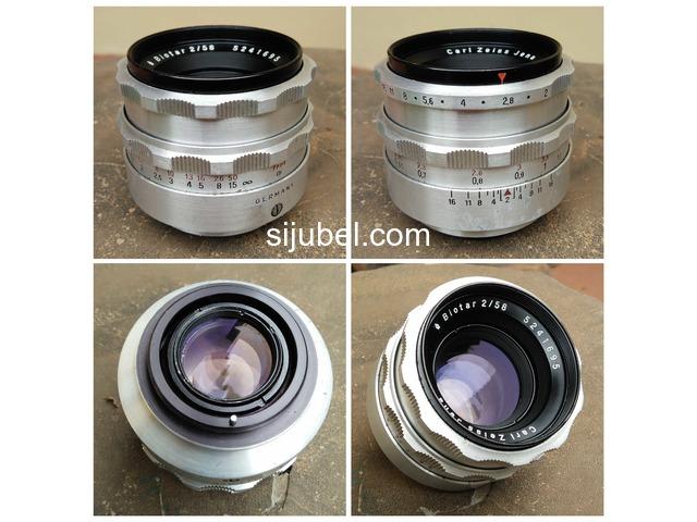 Carl Zeiss Jena Biotar 58mm F2 - 1/5