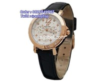 Swiss Army 2276 Rosegold Black Leather