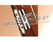 0812 33 8888 61 (JBS), Pintu Plat Besi Untuk Ruko Dari BAJA