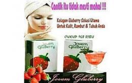 GLUBERRY Minuman Suplemen untuk Kecantikan dan Kesehatan