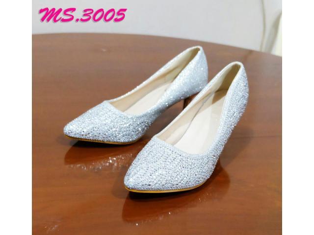 sepatu heel pesta wanita kantor kedja import mylo ms3005 high qlty - 1/1