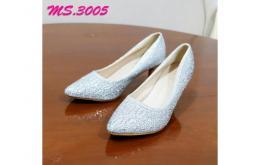 sepatu heel pesta wanita kantor kedja import mylo ms3005 high qlty