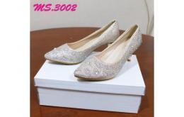 sepatu heel pesta wanita kantor kedja import mylo ms3002 high qlty
