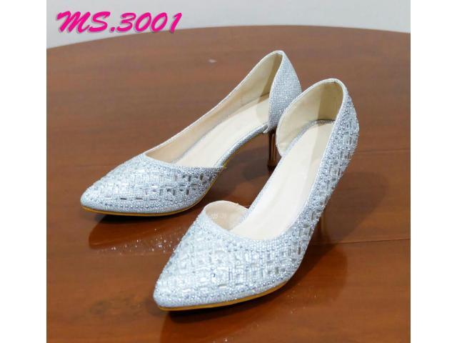 sepatu heel pesta wanita kantor kedja import mylo ms3001 high qlty - 1/1