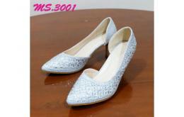 sepatu heel pesta wanita kantor kedja import mylo ms3001 high qlty