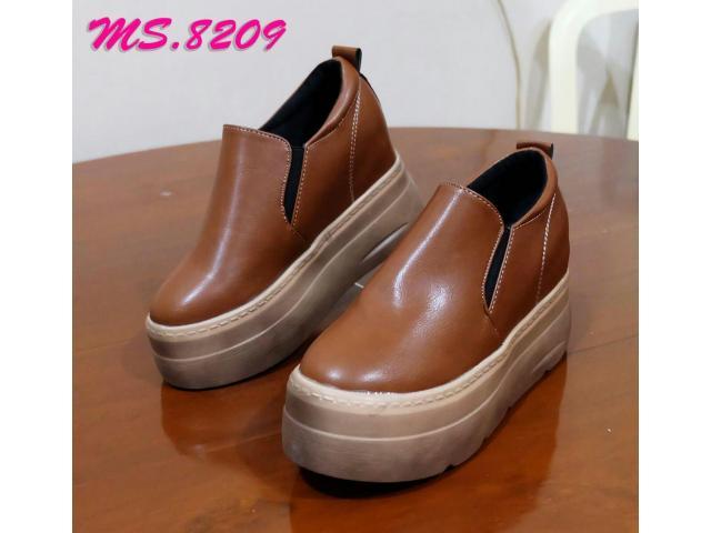sepatu wedges casual sneaker kets wanita import mylo ms8209 - 1/1