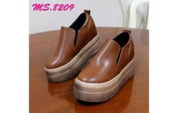 sepatu wedges casual sneaker kets wanita import mylo ms8209