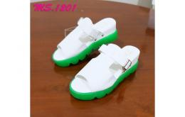sandal wedges flat shoes casual wanita import mylo ms1201 high quality