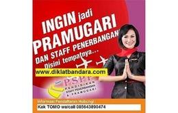 Cara Mudah Jadi PRAMUGARI? Klik www.diklatbandara.com